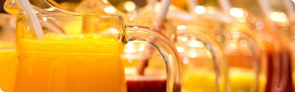 Täglich frisch gepresste Säfte für den Vitaminkick
