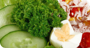 Der Obsttresen Chefsalat zur Stärkung für den Tag