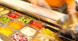 Mixen Sie Ihren eigenen Salat