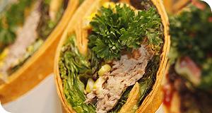 Thunfisch Wrap für einen feinen Geschmack